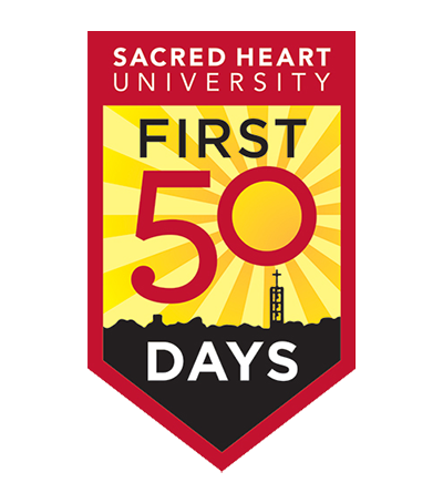 SHU 1st Fifty Days Logo