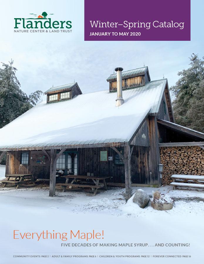 Flanders Nature Center Winter Catalog
