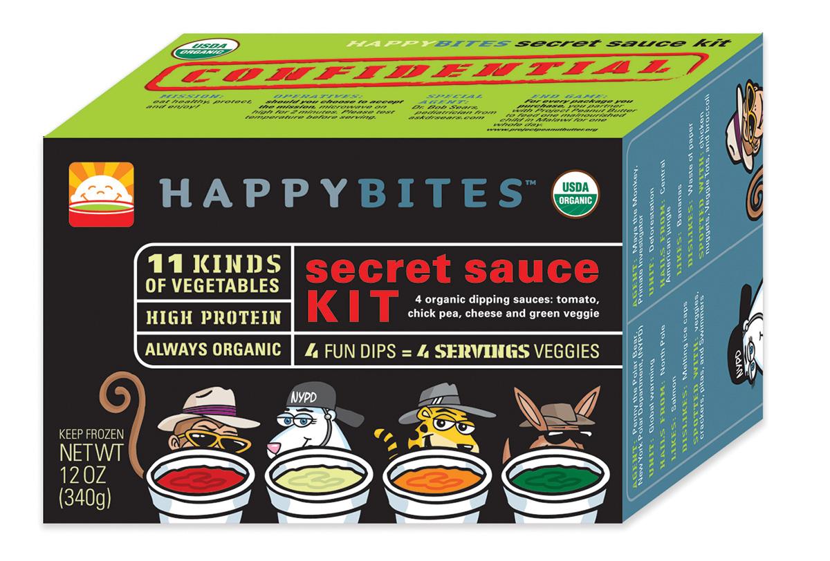 Happy Bites Sauce Kit