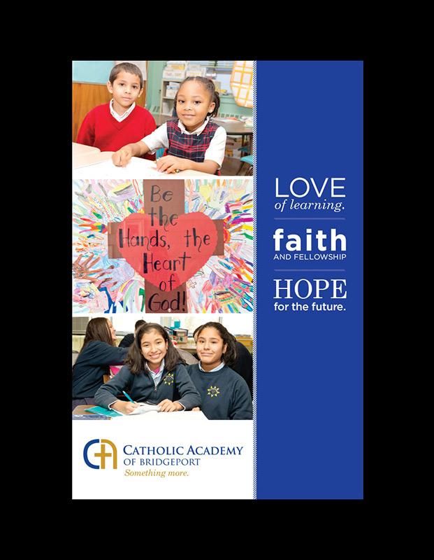 Catholic Academy of Bridgeport brochure