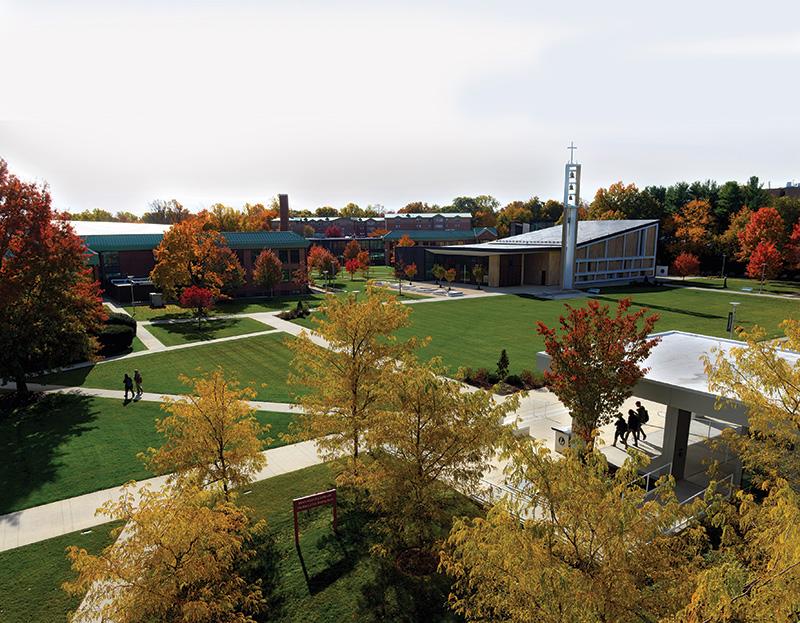 Sacred Heart University quad