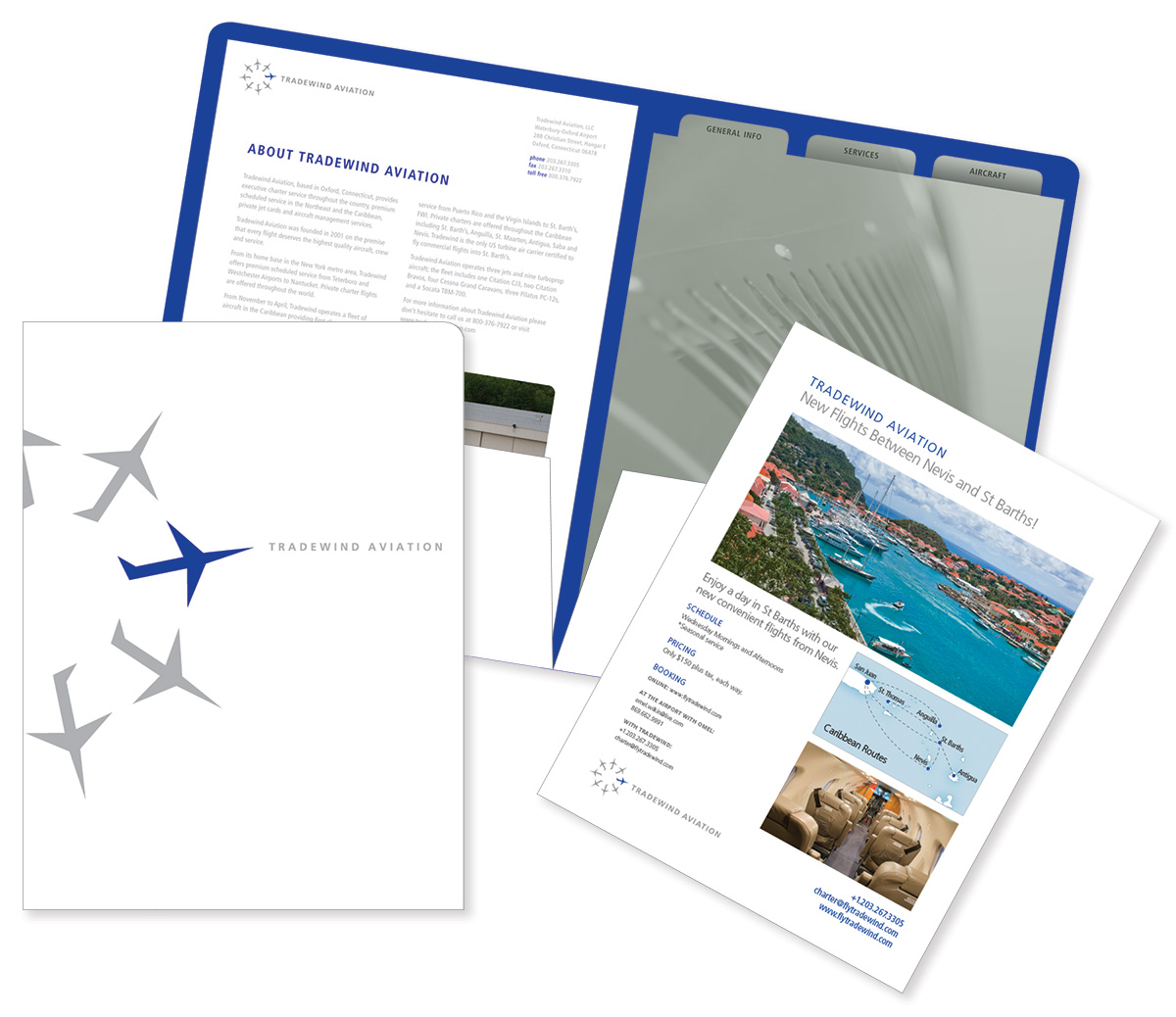 Tradewind marketing kit